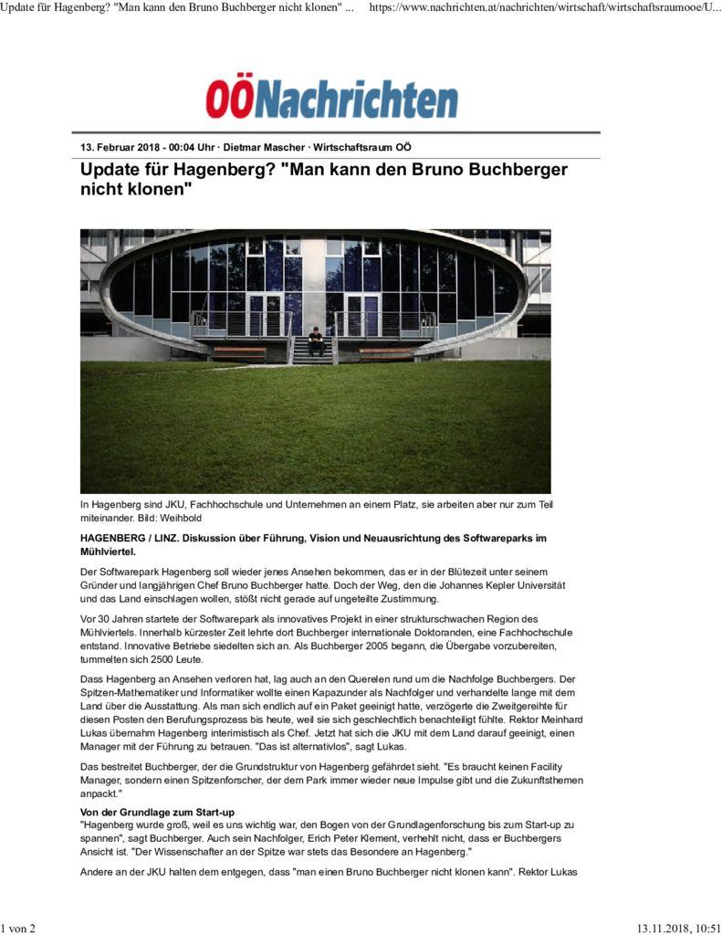 Press Reports - RISC - Johannes Kepler University