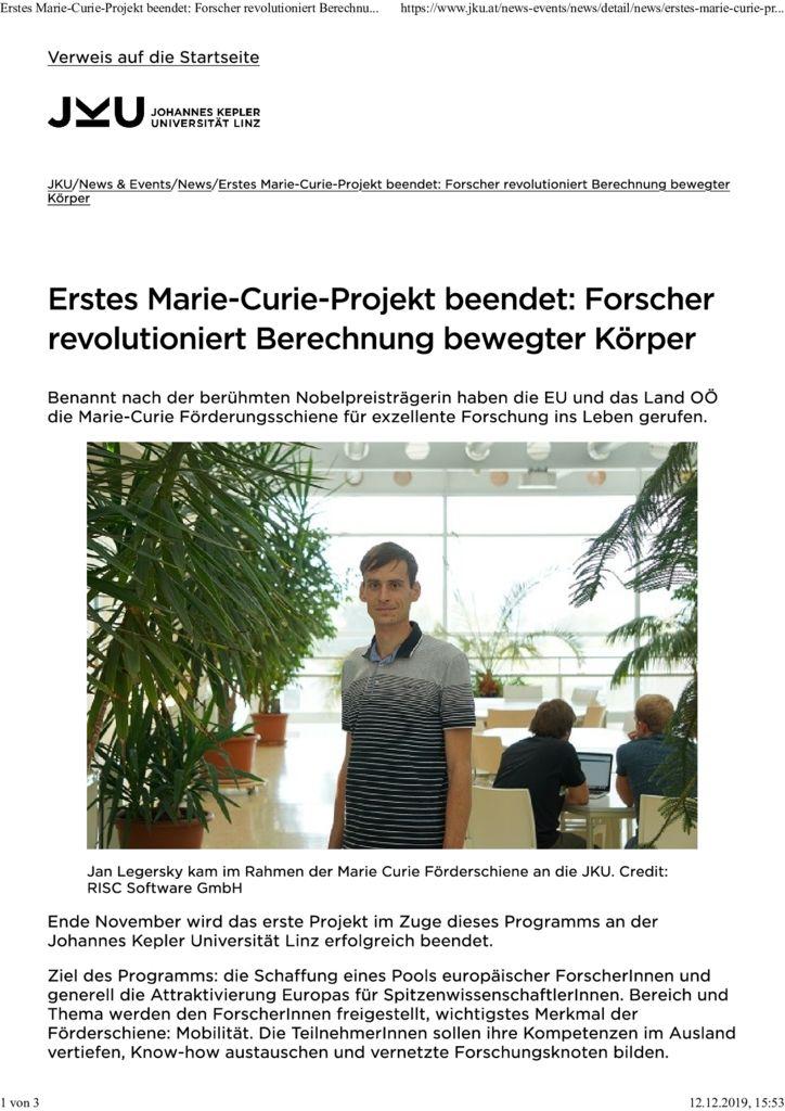 Marie-Curie-Artikel